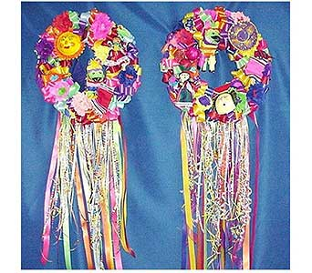 Fiesta Double Door Wreath in San Antonio TX, Allen's Flowers & Gifts