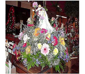 Fiesta Mex.Bridal Centerpiece in San Antonio TX, Allen's Flowers & Gifts