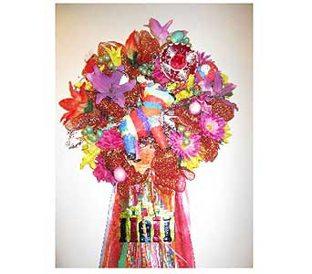 Designer''s Pick-Fiesta Pinata Wreath in San Antonio TX, Allen's Flowers & Gifts