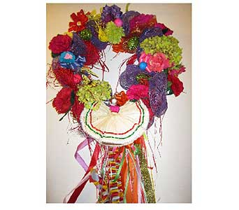 Fiesta Salsa Dancer Wreath I in San Antonio TX, Allen's Flowers & Gifts