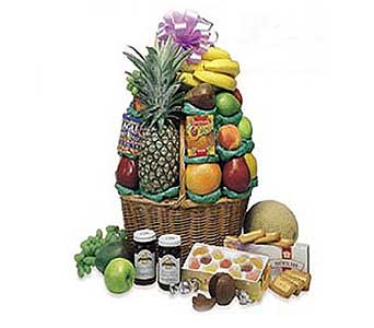 Everyone''s Favorite Fruit Basket in San Antonio TX, Allen's Flowers & Gifts