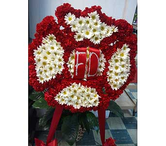 Maltese Cross for Fire Department in Chattanooga TN, Chattanooga Florist 877-698-3303