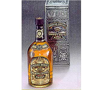 Chivas Regal Scotch 12 year in San Antonio TX, Allen's Flowers & Gifts
