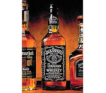 Jack Daniels Whiskey in San Antonio TX, Allen's Flowers & Gifts