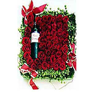 Roses and Champagne in San Antonio TX, Allen's Flowers & Gifts