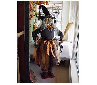 5.5'' Halloween Witch in San Antonio TX, Allen's Flowers & Gifts