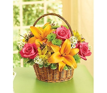 Fields of Flowers Basket  in Princeton, Plainsboro, & Trenton NJ, Monday Morning Flower and Balloon Co.
