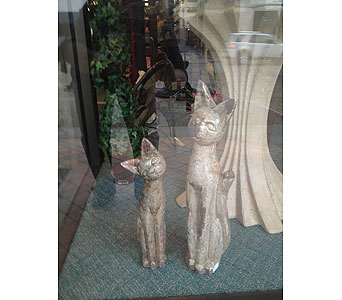 Ceramic Cats in New Castle PA, Butz Flowers & Gifts