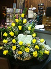Memorial Stepping Stone Arrangement in Milford OH, Jay's Florist
