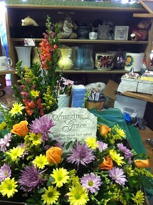 Amazing Grace Stepping Stone in Milford OH, Jay's Florist
