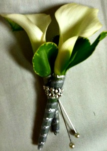 Calla Lillies Boutonniere  in Lemont IL, Always with Flowers
