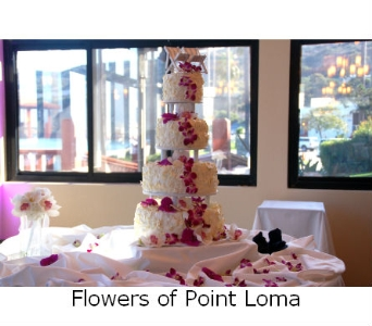 Cake decorations in San Diego CA, Flowers Of Point Loma