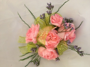 Spray Rose Corsage in Henderson NV, A Country Rose Florist, LLC
