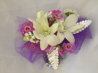 Dendrobium Orchid Corsage in Henderson NV, A Country Rose Florist, LLC
