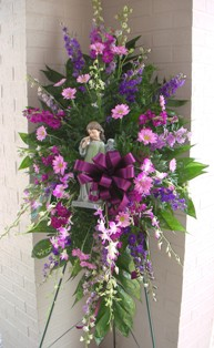 Angels Among Us Spray in Lake Charles LA, A Daisy A Day Flowers & Gifts, Inc.