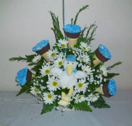 Archer's Ice Cream Cone Arrangement in Huntington WV, Archer's Flowers, Inc.