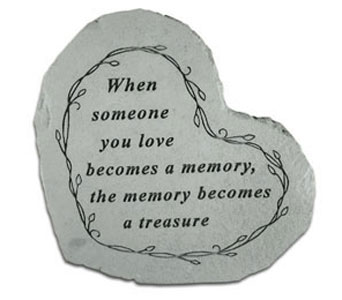 Memory to Treasure - Heart in Monroe MI, Monroe Florist