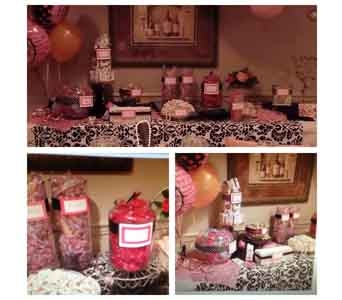 Candy Buffet in Colonia NJ, Vintage and Nouveau