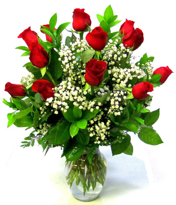 Deluxe Dozen Roses: Longer Stemmed in Smithtown NY, James Cress Florist