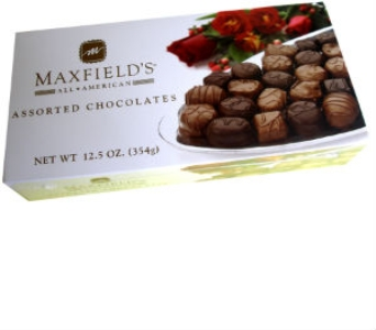 Maxdield's assorted chocolates in Redlands CA, Hockridge Florist