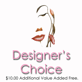 Designer's Choice: $10.00 Additional Value Added F in Newport News VA, Pollards Florist