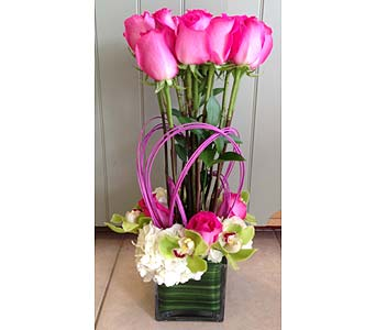 18 Long Stem Roses in Rancho Palos Verdes CA, JC Florist & Gifts