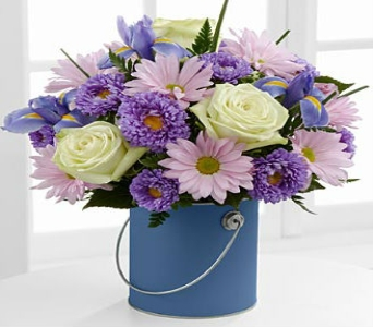 The Color Your Day Tranquility� Bouquet by FTD� -  in Wichita KS, Lilie's Flower Shop