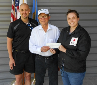 Trochta's $5,000 Red Cross Donation in Oklahoma City OK, Trochta's