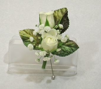 Double Sweetheart Boutonniere in Herndon VA, Herndon Florist, Inc