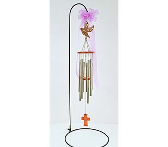 Peaceful Dove Wind Chime in Indianapolis IN, Gillespie Florists