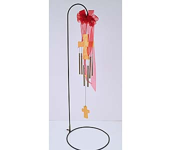 Sacred Cross Wind Chime in Indianapolis IN, Gillespie Florists