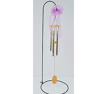 Footprints Wind Chime in Indianapolis IN, Gillespie Florists