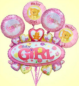 Baby Girl Marquee Bundle  in Lemont IL, Royal Petal