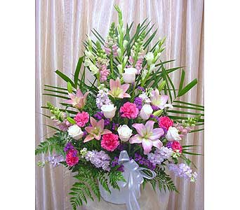 Sincere Sympathy Arrangement in Orange CA, Main Street Florist