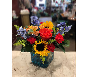 Sunflower Bright  in Princeton, Plainsboro, & Trenton NJ, Monday Morning Flower and Balloon Co.
