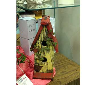 Birdhouse in New Castle PA, Butz Flowers & Gifts