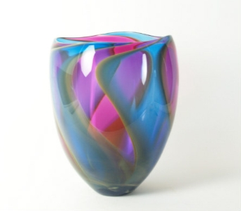 Handmade Glass Vase in Hellertown PA, Pondelek's Florist & Gifts