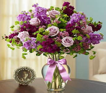 Shades of Purple in Snellville GA, Snellville Florist