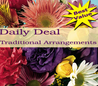 Traditional Arrangement Daily Deal in Norristown PA, Plaza Flowers