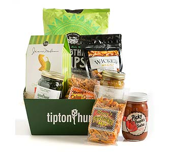 Hot & Spicy Gourmet Basket in Little Rock AR, Tipton & Hurst, Inc.