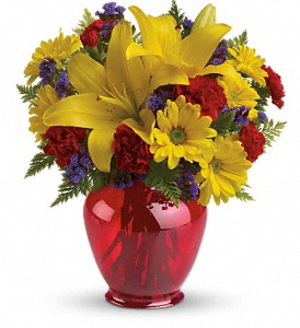 Teleflora's Let's Celebrate Bouquet in Greenbrier AR, Daisy-A-Day Florist & Gifts
