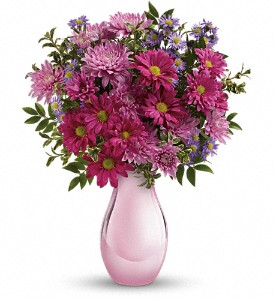 Teleflora's Time Together Bouquet in Boerne TX, An Empty Vase