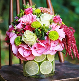 Lime Surprise Bouquet in Guelph ON, Patti's Flower Boutique