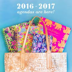 Lilly Pulitzer 2016-17 Agendas! in Knoxville TN, The Flower Pot