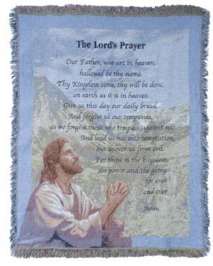 The Lord's Prayer Tapestry in Pendleton IN, The Flower Cart