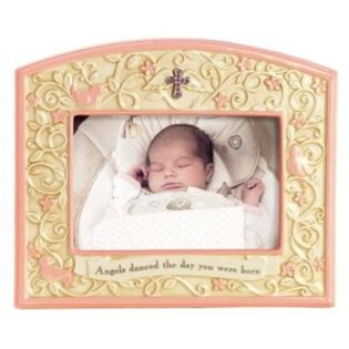 Blessed New Arrival Frame in Lockport NY, Gould's Flowers, Inc.