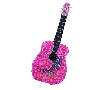 Guitar in Palm Springs CA, Palm Springs Florist, Inc.