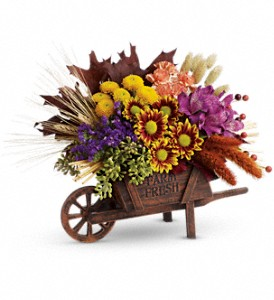 Teleflora's Antique Autumn Bouquet in Vernon Hills IL, Liz Lee Flowers