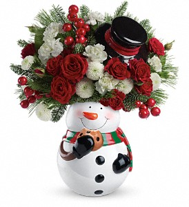 Teleflora's Cookie Jar Greetings Bouquet in Northumberland PA, Graceful Blossoms