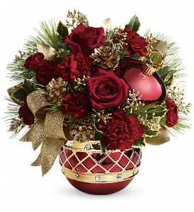 Teleflora's Jeweled Ornament Bouquet in Hamilton OH, Gray The Florist, Inc.